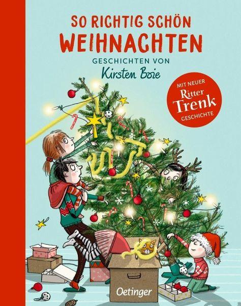 Cover des Buches So richtig schön Weihnachten von Kirsten Boie